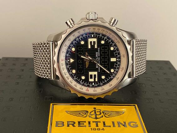 Relógio Breitling Chronospace Ref. A78365 48mm Completo.