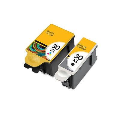 Imagen 1 de 1 de 2 Compatible Con Kodak  30 Negro Y Color Ink Cartridge Combo