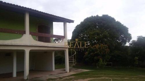 Chácara Com 3 Dormitórios À Venda, 1000 M² Por R$ 600.000,00 - Fazenda Hotel São Bento Do Recreio - Valinhos/sp - Ch0015