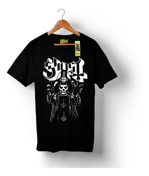 Remera Ghost - 100% Algodón Calidad Premium