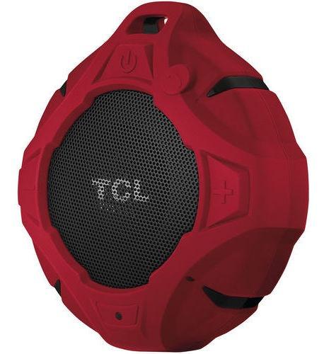 Caixa De Som Bluetooth Vermelha Red Speaker Tcl Bs05b