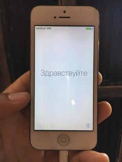 iPhone 5 16gb Funcionando Perfeitamente.