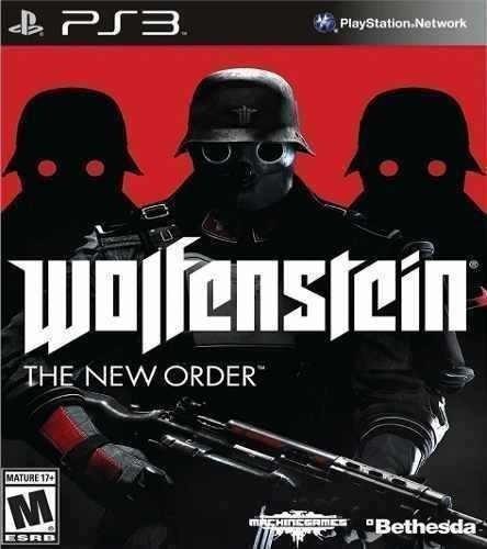 Wolfenstein The New Order - Jogos Ps3 Playstation 3 Psn