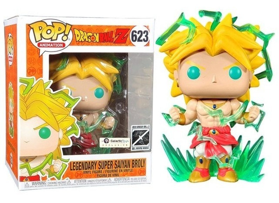 Funko Pop Legendary Super Saiyan Broly Galactic Dragon Ball