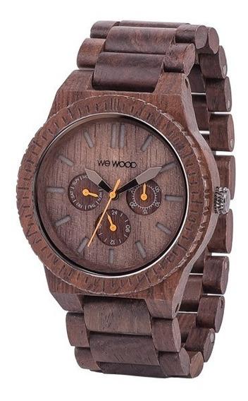 Relógio Wewood Kappa Chocolate + Frete Grátis