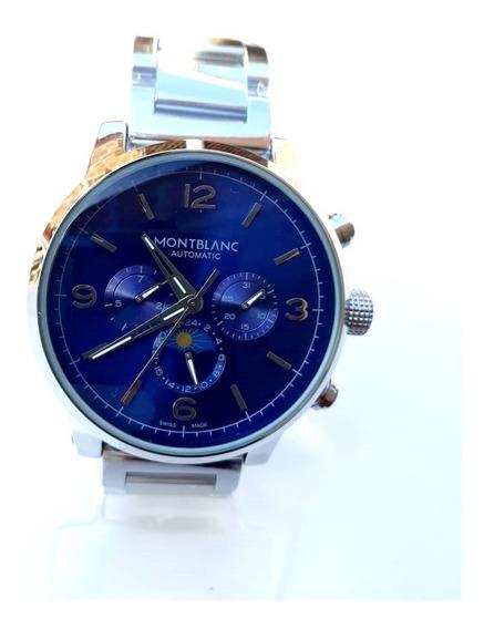 Relógio Masculino Mb Timewalker Automático 100% Funcional