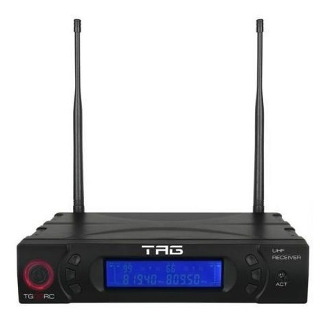 Receptor Digital Para Microfone Tagsound Tg-88rc