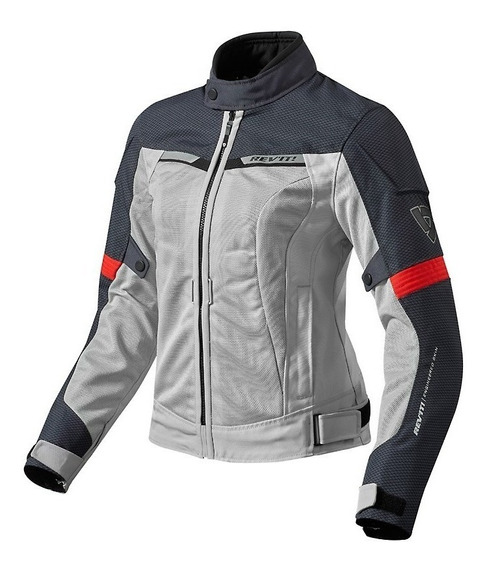 Campera Moto Verano Protecciones Revit Airwave 2 Ladies