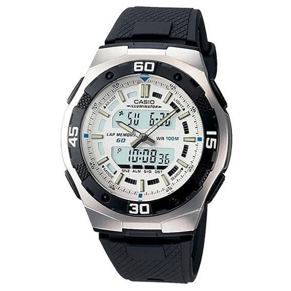 Relógio Casio Masculino Iluminator Aq-164w-7avdf.