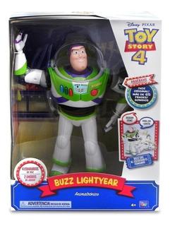 Toy Story 4 Figura Animatronica Buzz 65+ Frases Y Sonidos