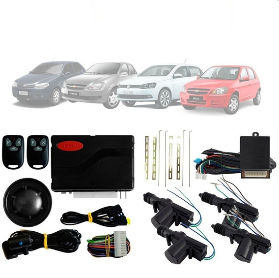 Alarme Automotivo Sistec Sxt 986 + Trava Elétrica 4 Portas