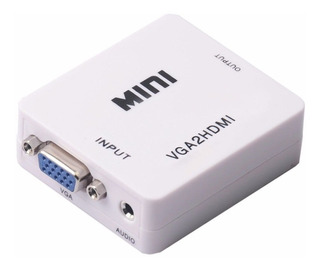Conversor Vga + Audio A Hdmi