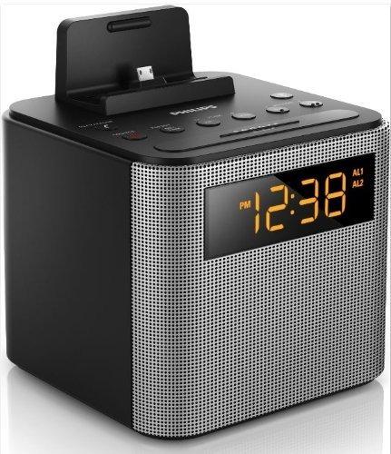 Radio Relógio Philips Ajt 3300 Com Bluethoot - Despertador