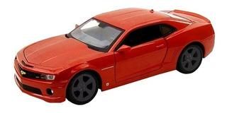 Miniatura Camaro Ss Rs Escala 1:24 Vermelho Chevrolet Maisto