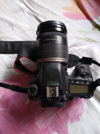Câmera Canon 80d Com Lente Canon 18x200mm.