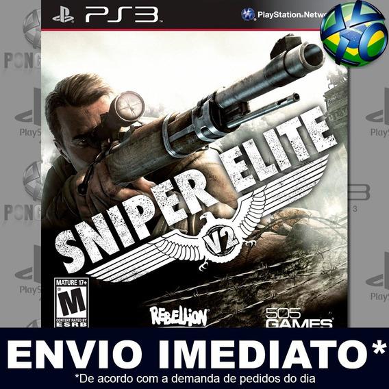 Sniper Elite V2 Ps3 Psn Jogo Em Promoção A Pronta Entrega
