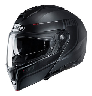 Casco Abatible Hjc I90 Mc5sf Davan Gris Mh&s