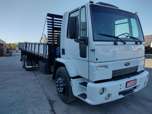 Imagem 1 de 15 de Ford Cargo 4331 Truck Carroceria Madeira Vw 24 250