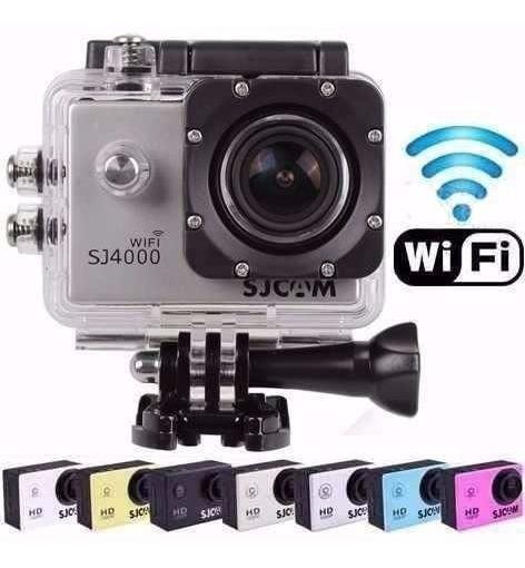 Sjcam Sj4000 Wifi Original Full Hd 1080p + Acessórios