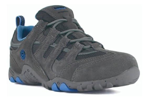 Zapatillas Borcegos Hi Tec Niños Quadra Impermeable Trekking