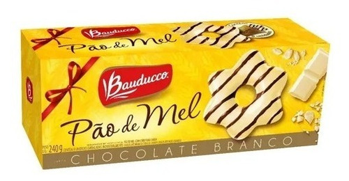 Imagem 1 de 1 de Pão De Mel Especial Chocolate Branco Bauducco 240g