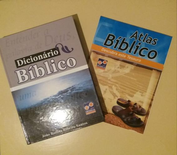 Dicionário Biblico Com Atlas - Editora Didática