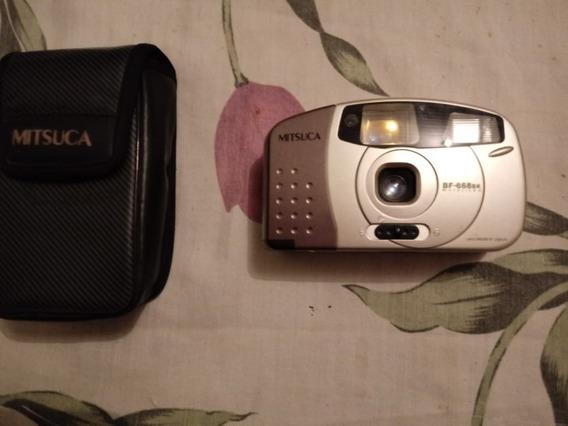 Câmera Fotográfica Analógica Mitsuca Bf-868br