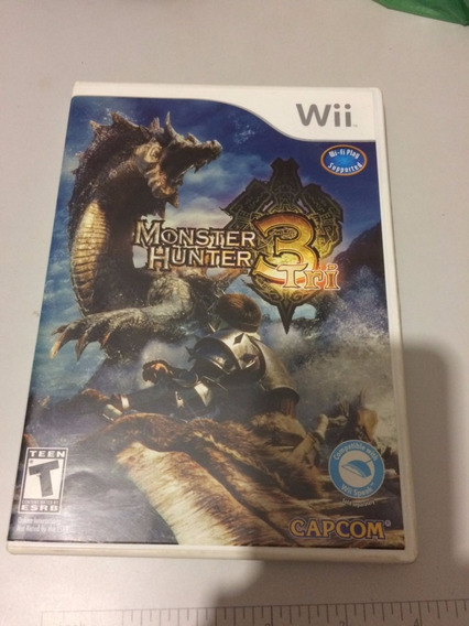 Monster Hunter 3 Tri Original Wii - Americano