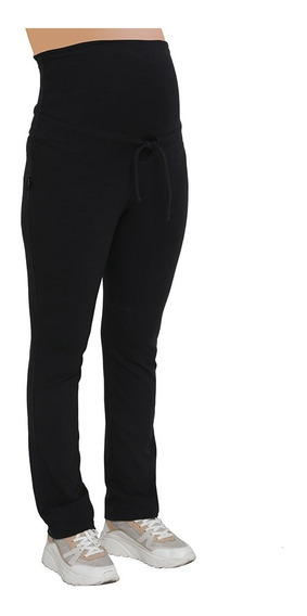 Joggings Maternal Faja Alta Con Cordon Para Regular Art 2227