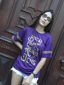 Camiseta Gospel - Buscai O Reino De Deus