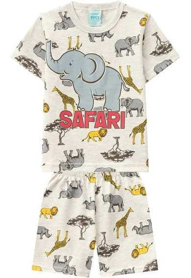 Pijama Kyly Para Bebê Safari
