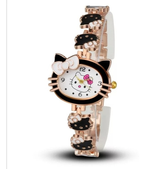 Lote De 5 Reloj Hello Kitty Con Envío Gratis