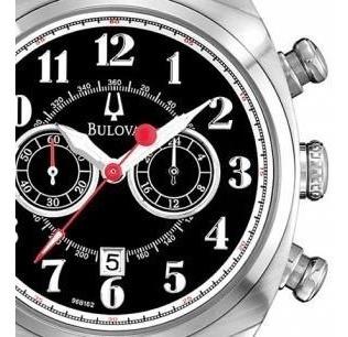 Relógio Bulova Masculino Classic Cronógrafo Wb21883t