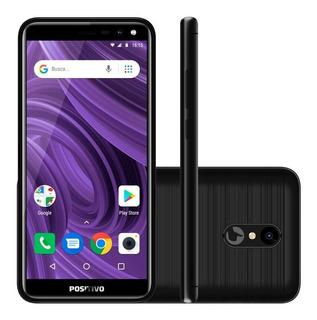 Smartphone Positivo Twist 2 S512 Tela 5 16gb Preto Novo Nf