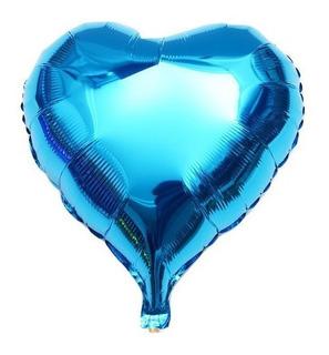 Kit 25 Balão Coração Metalizado Festa Casamento Comemoração