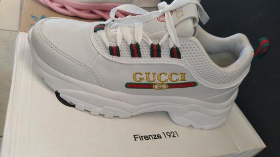 Tênis Gucci Feminino Branco