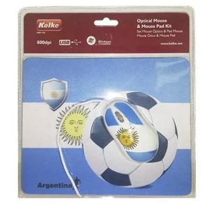 Mouse + Pad Argentina Oferta Exclusiva Diseño Ramos Mejia