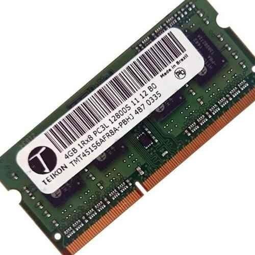 Memoria 4gb Teikon Pc3l-12800 / Hd 500 Gb Western Digital