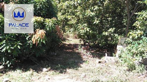 Imagem 1 de 5 de Terreno À Venda, 1600 M² Por R$ 240.000,00 - Pau Queimado - Piracicaba/sp - Te0399