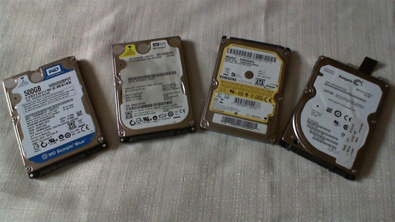 Hd 500, 320, 160 E 120 Gb Para Notebook