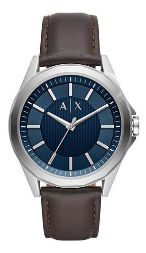 Relógio Masculino Armani Exchange Drexler Prata - Original