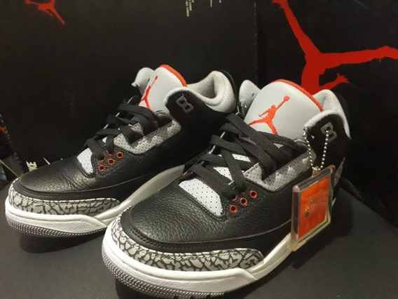 Air Jordan Retro 3 Black Cement Og 2018