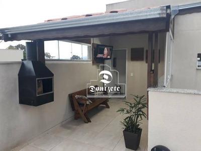 Cobertura Com 2 Dormitórios À Venda, 76 M² Por R$ 250.000 - Vila Vitória - Santo André/sp - Co10816
