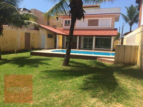 Imagem 1 de 26 de Sobrado Com Piscina 3 Dormitórios À Venda, 223 M² Por R$ 590.000 - Campos Elíseos - Itanhaém/sp - So0371