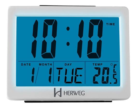 Despertador Digital Herweg 2982 021 - Refinado