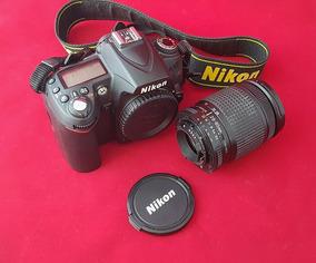 Nikon D90 Lente Nikon 28-80 Flash 50dx Grip Tudo Zerado
