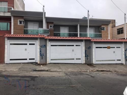 Imagem 1 de 1 de Sobrado Com 3 Dormitórios À Venda, 100 M² Por R$ 530.000,00 - Parque Erasmo Assunção - Santo André/sp - So0373