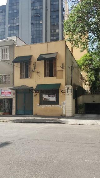 Casa Comercial Para Bar, Restaurante A Meia Quadra Da Pamplona - Kf27057