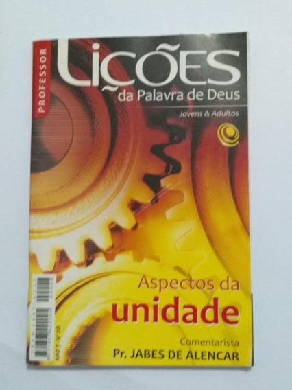 Revista Lições Da Palavra De Deus - Aspectos Da Unidade