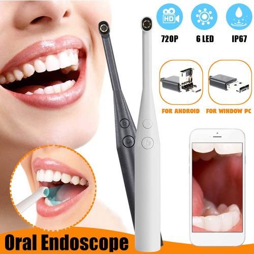 Imagen 1 de 6 de 720p Hd Blanco Dental Cámara Intraoral Intraoral Endoscopio